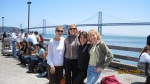 Jill, Amy, Daniella & Patricia at Ferry Plaza SF