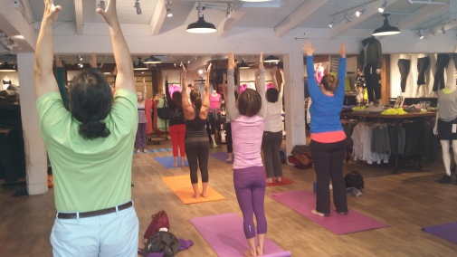 Sunday Spring Class at Athleta