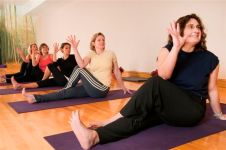 Yoga for Healthy back class- In Twist, Juice it Up!