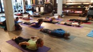 Sunday Yoga @Athelta - Super Yogis!