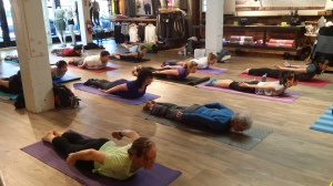 Sunday Yoga @Athelta - Super Yogis!
