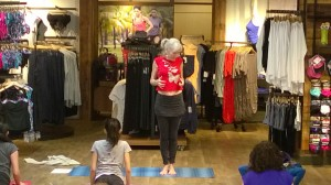 Sunday Yoga @ Athleta cobra fine tuning